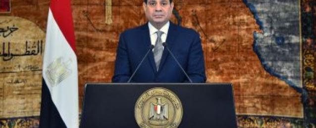 الرئيس السيسى … الشعب المصرى قادر على مواصلة الانتصارات والحفاظ على وطنه