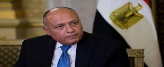 شكري يتوجه إلى تونس الأربعاء للمشاركة في الاجتماع الوزاري الثلاثي حول ليبيا