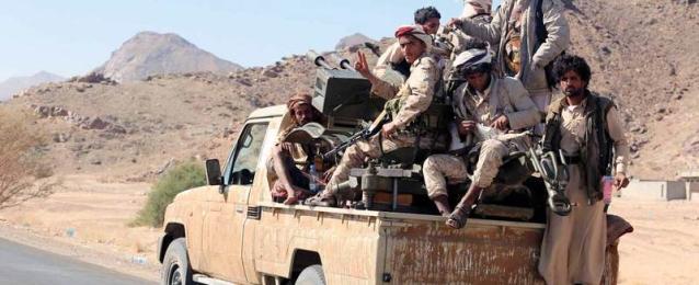 الجيش اليمني يشن هجوما على مواقع ميلشيات الحوثي شمالي البيضاء