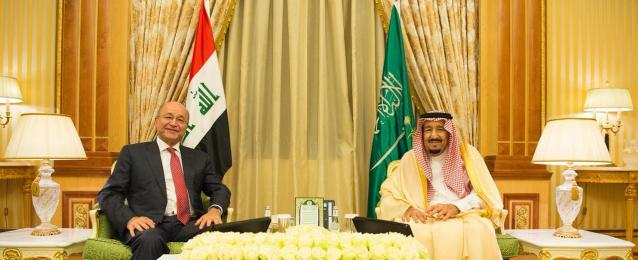 خادم الحرمين يهنى الرئيس العراقى بـ «يوم الجمهورية»