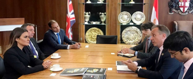 سحر نصر : ندعم الاصلاحات الاقتصادية لجذب المزيد من الاستثمارات البريطانية إلى مصر