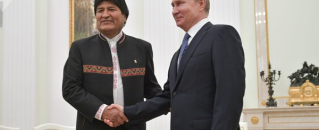 بوتين: التدخل الخارجي في فنزويلا غير مقبول