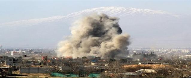 """تدمير رتلا لـ""""داعش"""" في قصف جوي بالأنبار العراقية"""