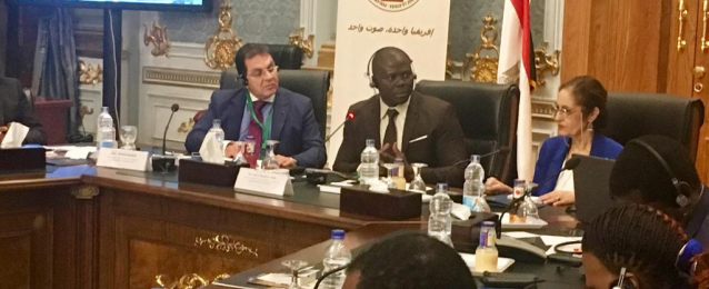 نائلة جبر تستعرض جهود مصر لمكافحة الهجرة غير الشرعية والاتجار بالبشر