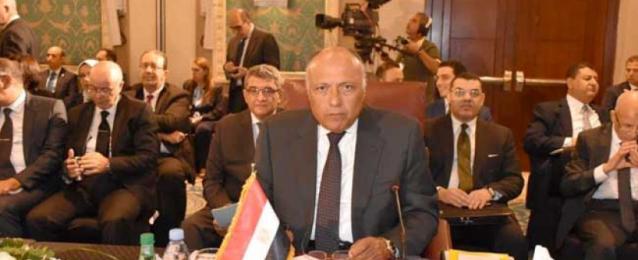 شكري يُشارك في اجتماع الدورة العادية لمجلس الجامعة العربية على المستوى الوزاري