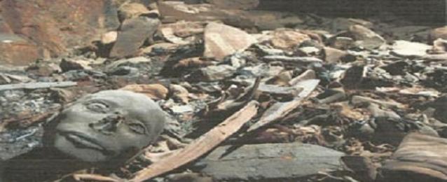 اكتشاف مقبرة ضخمة بوادى الملوك تحتوى على 50 مومياء