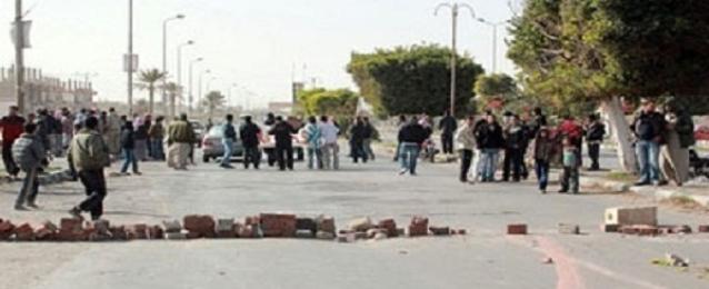 الأمن ينجح بإعادة الحركة المرورية على طريق مصر/اسوان الزراعي
