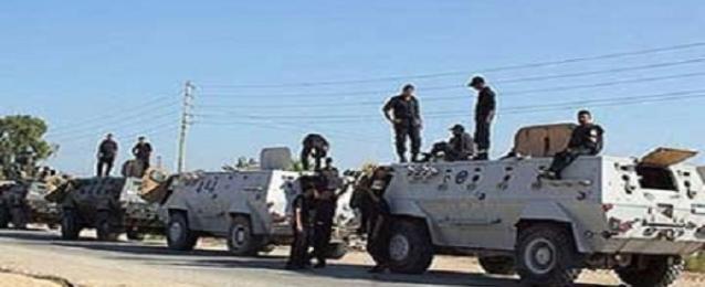 القضاء على تكفيرى والقبض على 38 مشتبه به فى شمال سيناء