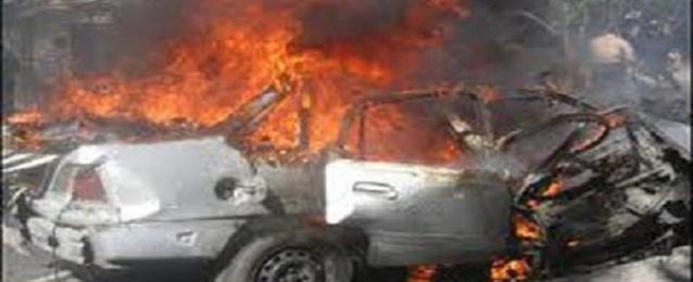 85جريحا في انفجار سيارة مفخخة وسقوط قذيفة في حمص