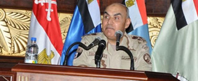 صدقى صبحى : أمن مصر القومي مهمة مقدسة لا تهاون فيها
