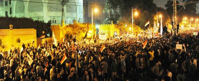 مصدر أمني: الإخوان اندسوا وسط متظاهري اﻻتحادية للاصطدام بقوات الأمن