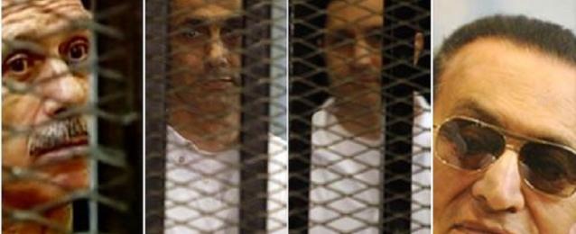 تأجيل إعادة محاكمة مبارك إلى الغد