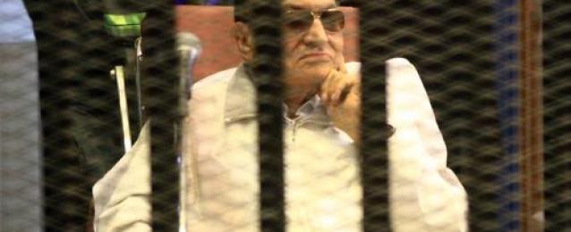 """تأجيل محاكمة """"مبارك"""" لجلسة 5 مايو لاستكمال سماع مرافعة دفاع المتهم السابع"""