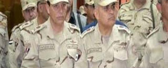 صبحي يتفقد عناصر الشرطة العسكرية المشاركة في قوات حفظ السلام بمالي