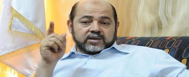 أبو مرزوق: انهاء الانقسام الفلسطيني سيزيل التضييق عن غزة