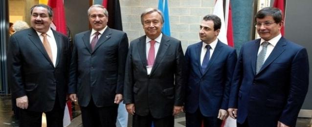 اجتماع وزاري لدول الجوار السوري في الأردن