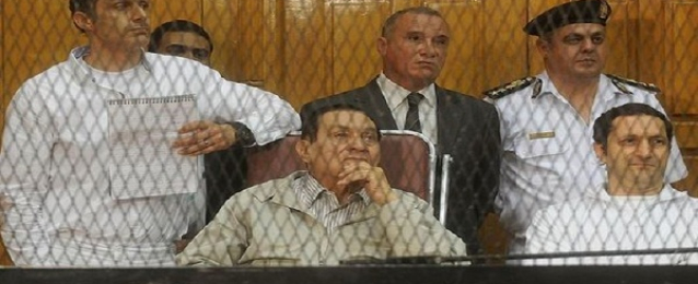 """استئناف محاكمة مبارك ونجليه اليوم فى قضية """"قتل المتظاهرين"""""""