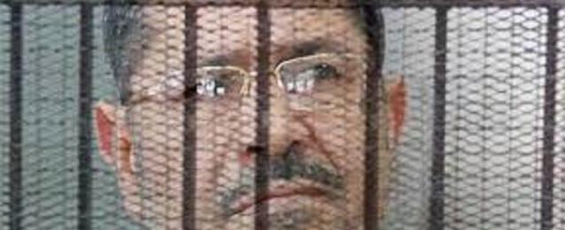 """تأجيل محاكمة مرسي في قضية """"أحداث الاتحادية"""" إلى غد"""