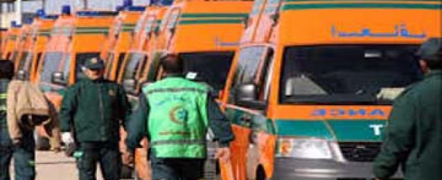 الصحة: حالة وفاة و٤ إصابات بالاسكندرية والفيوم