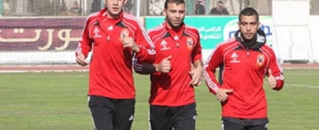 الأهلي يخوض مرانه الثاني في تونس استعدادا للقاء النجم الساحلي
