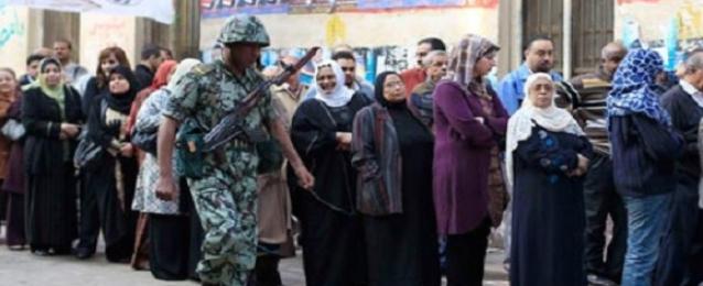 تزايد ملحوظ في اعداد الناخبين في لجان 6 أكتوبر وحلمية الزيتون