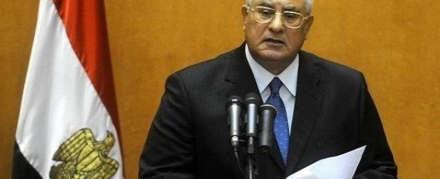 الرئيس منصور يدعو للتصويت والمشاركة في بناء المستقبل