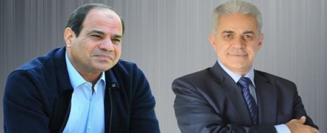 """""""الانتخابات الرئاسية"""" تعلن السيسي وصباحي مرشحين رسميين للانتخابات"""