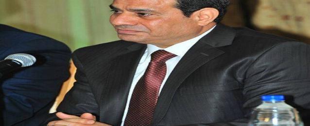 السيسى يلتقى وفدا من المجلس القومى للسكان