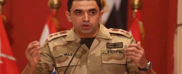 القوات المسلحة تفجر سيارة مفخخة بشمال سيناء