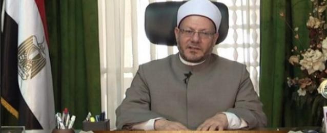 مفتى الجمهورية: تنصيب السيسى رئيسا تتويج لإرادة المصريين