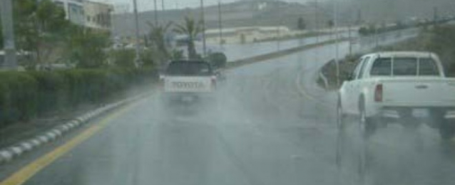 انهيار 4 منازل وسقوط مئات الأشجار بأسوان وأمطار غزيرة على دمياط وجنوب سيناء