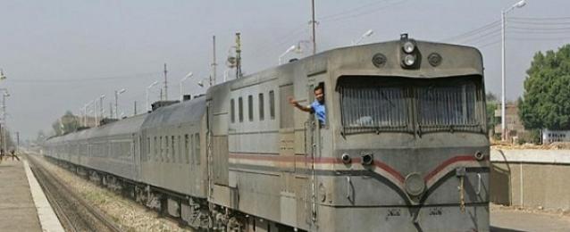 انتظام حركة القطارات بالشرقية بعد إخماد حريق أبو حماد