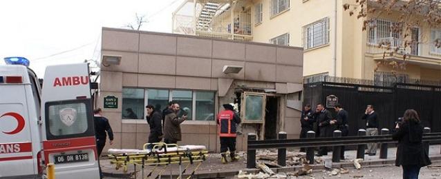 انفجار بالقرب من السفارة الأمريكية بأنقرة