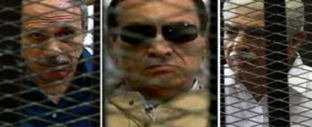 """تأجيل طعون """"مبارك"""" و""""العادلي"""" و""""نظيف"""" لـ 31 مايو الجاري"""