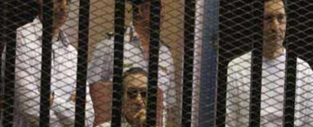 """النيابة تخاطب """"السجون"""" لبيان مدة الحبس الاحتياطي لمبارك في """"القصور الرئاسية"""""""