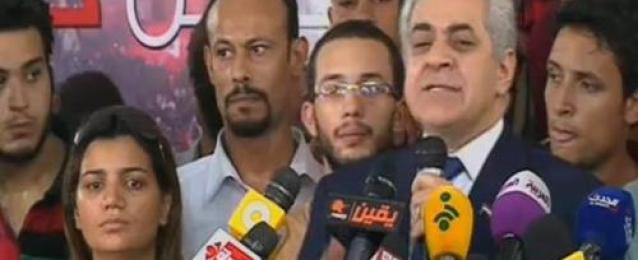 """حمدين صباحي: الانتخابات شهدت """"انتهاكات خطيرة"""" لكنها لاتؤثر على النتيجة النهائية"""