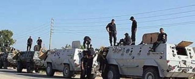 القبض على 4 وتدمير10بؤر إرهابية فى حملة أمنية بالعريش