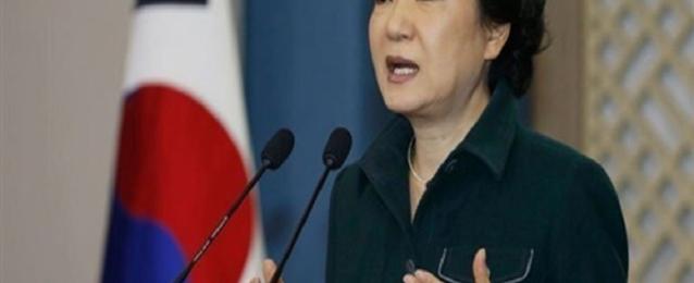 تراجع شعبية رئيسة كوريا الجنوبية إلي 40 %