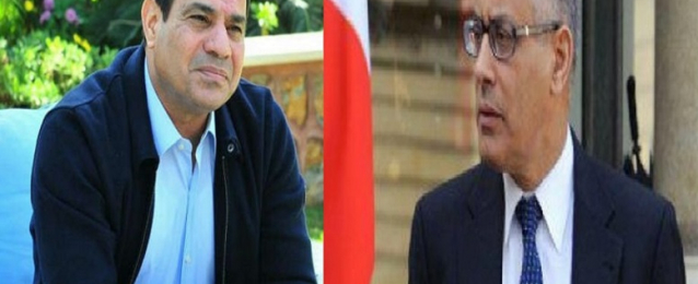 رئيس الوزراء الليبي السابق يدعو الشعب المصر ي لانتخاب السيسي رئيسا