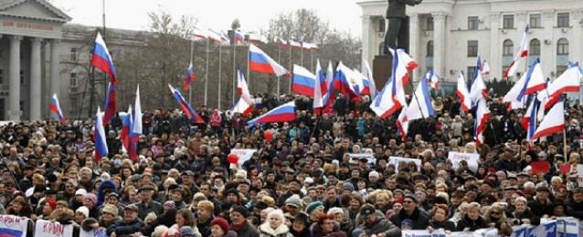 سلطات القرم تحظر المظاهرات حتى 6 يونيو بسبب أحداث شرق أوكرانيا