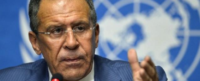 لافروف: يتعين وقف العنف و الاستفادة من الانتخابات الرئاسية