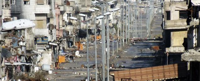 اتفاق لوقف إطلاق النار بين الحكومة السورية والمعارضة في حمص