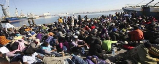40 قتيلا بعد غرق سفينة مهاجرين أمام ساحل ليبيا