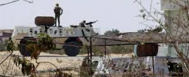 قناصة يطلقون النار على محيط قسم الشيخ زويد دون وقوع إصابات