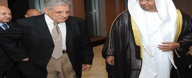 محلب يبحث فى دبي المشروعات التى تمولها الإمارات