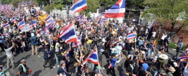 المتظاهرون التايلانديون يعلنون استعدادهم لتشكيل حكومتهم الخاصة