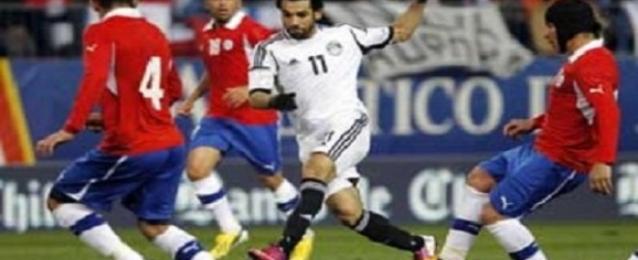 منتخب مصر يخسر أمام تشيلي بثلاثة أهداف لهدفين وديا