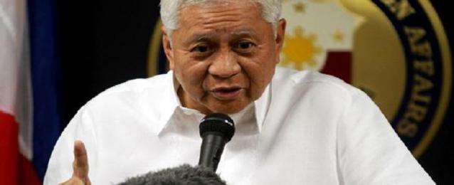 وزير خارجية الفلبين يصل القاهرة