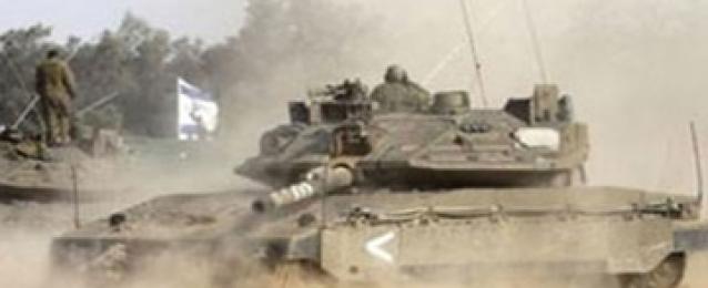 تحركات لآليات عسكرية إسرائيلية على حدود غزة