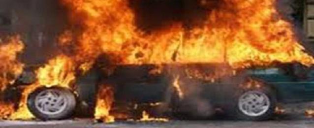 إشعال النيران في سيارتي ضابط شرطة بالكويت